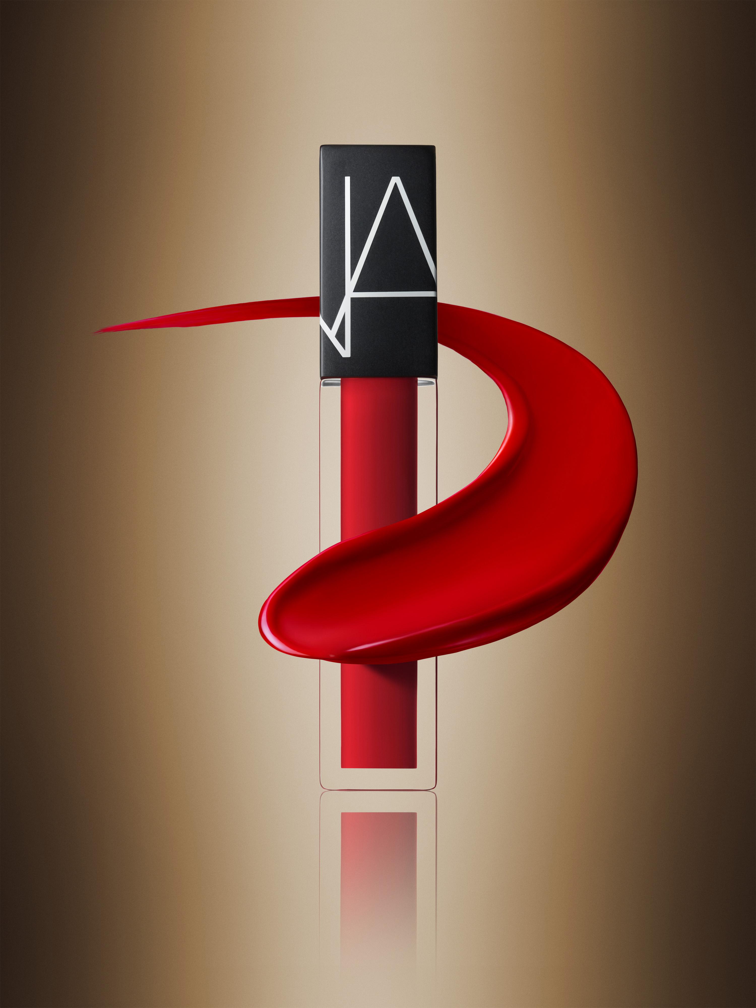 NARS Velvet Lip Glide Stylized Mineshaft Image with Swipe
