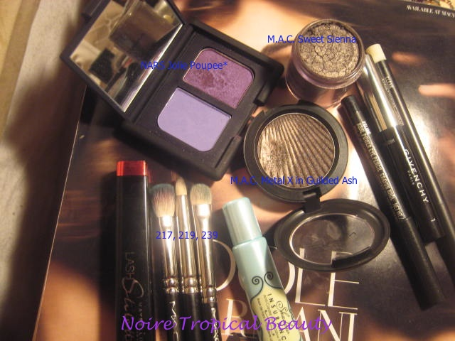 Products used...