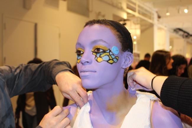 the makeup show nyc purple