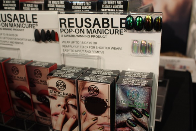 the makeup show nyc static nails