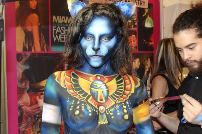 the makeup show nyc cosmix egyptian cat 2