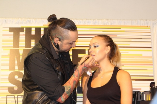 the makeup show nyc mufe lujan 1