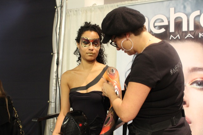 the makeup show nyc mehron ginny houle 4