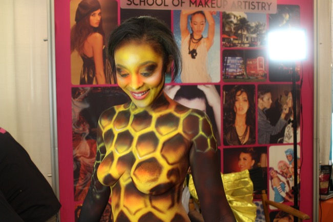 the makeup show nyc honey bee 2