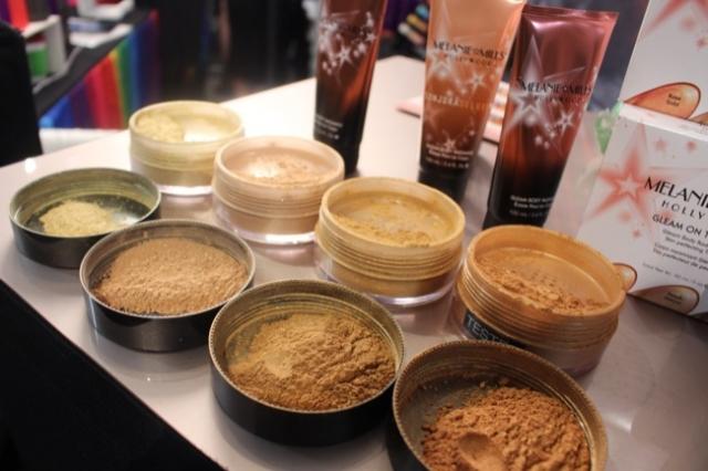 the makeup show nyc gleam powders