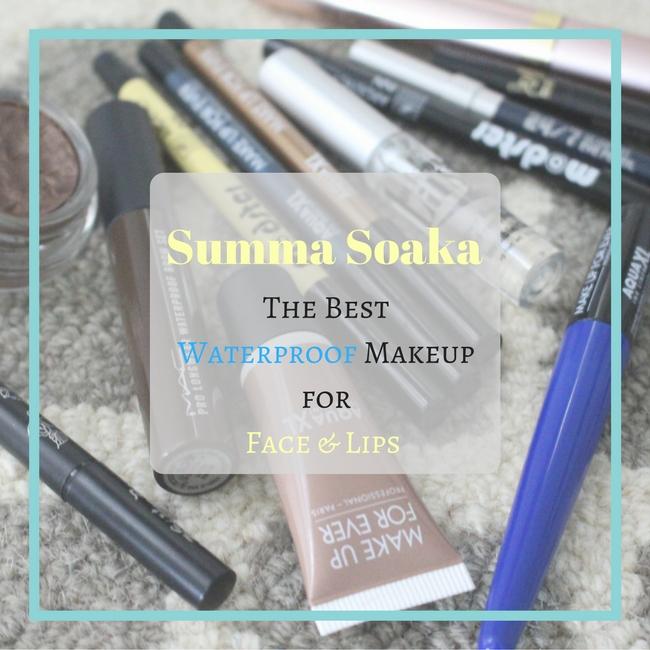 Summa Soaka Waterproof Makeup Face Lips