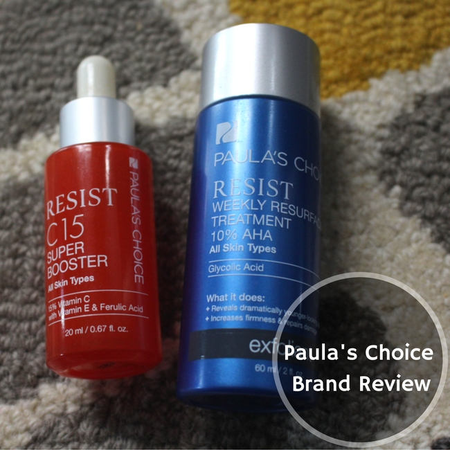 Paula's Choice Brand Review anti-aging