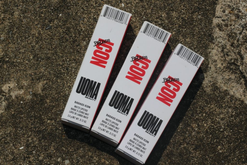 UOMA Beauty Badass Icon Matte Lipsticks